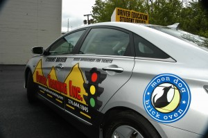 Driver Training Inc Hybrid Sonata 2012, Sponsored by Moon Dog Pizza, Bellas and EM Collision